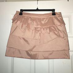 Forever 21 Short Skirt Peach Short Skirt Never Worn. Size: US Large Forever 21 Skirts Mini