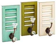 apparently there's a tutorial on how to make your own here: http://lovelindseyblog.blogspot.com/2011/08/shutter-kitchen-rack.html