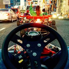 1. Ride Go-Karts in Akiba  Race through the streets of Tokyo dressed as your favorite Mario Kart character and learn how to drive on the left-hand side of the road while dodging real-life traffic. No guides, no helmets… probably one of the coolest things you can do in life (GPS not included).