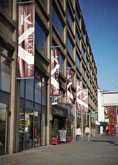 Kilkenny Shop's Cafe (second level), 6 Nassau Street, Dublin    http://www.kilkennyshop.com