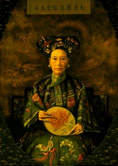 Empress of China, Empress Dowager Ci Xi, Ruler of Manchu (Qing Dynasty) China, 1861 till her death in 1908.