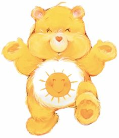 Funshine Bear by American Greetings (americangreetings), from the Series Care…