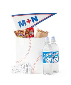 Welcome Bag: For the love of the game, indulge avid sports fans with a fun wedding welcome idea.