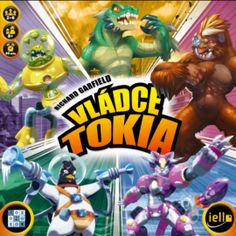 Buy King of Tokyo: Edition at Mighty Ape Australia. King of Tokyo – Edition King of Tokyo is a game from Richard Garfield for 2 to 6 players in which you will be able to play mutant monsters gigant. Fun Board Games, Fun Games, Games For Kids, Games To Play, Family Game Night, Family Games, Tokyo Ville, Monster Board, North America Map