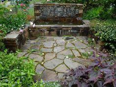 Image result for small formal mediterranean gardens