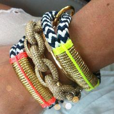 #theropesmaine + #jcrew #bracelets