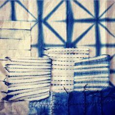Textielmuseum Masterclass 1. Japanse verf en patroon technieken (Verven met natuurlijke indigo, Shibori, Kasuri, Itaijme en Sashiko). Donderdag 22 oktober