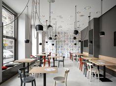 JRA Jaroušek.Rochová.Architekti, Café. Bistro. Pekařství Záhorský - foto © Filip Šlapal