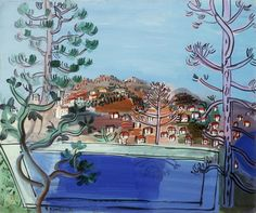 A Pool at Golfe Juan; Le Reservoir a Golfe Juan, 1927 (oil on canvas)