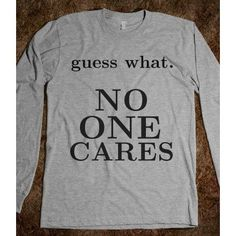 No one cares - Volleyball - Skreened T-shirts, Org ($26.99)