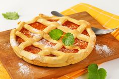 Crostata Winter Food, Waffles, Breakfast, Morning Coffee, Waffle, Morning Breakfast