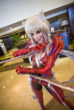 Witchblade cosplay. Probably one of the best I've seen ever.