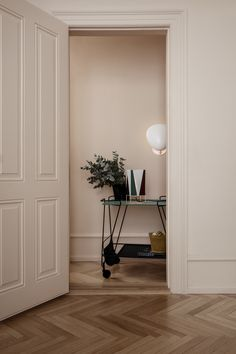 GUBI // Matégot Trolley, B-4 Table Lamp, Cobra Wall Lamp, Matégot Flower Pot