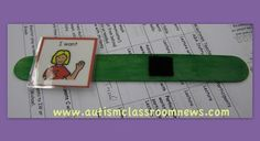 The Many Uses for Popsicle Sticks: Setting Up an Autism Classroom-Materials - Autism Classroom Resources
