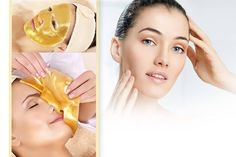 10 Gold Collagen Face Masks & Headband deal in Skincare Treat your gorgeous self to a pack of 10 gold collagen face masks.  Aims to help plump up your natural beauty with and collagen.  Also comes with a headband.  A luxury treat for your facial skin.  Makes a fun night in with the gals.  Perfect for a bit of pampering! BUY NOW for just £6.00