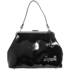 Sourpuss Betsy Anchor Black Purse