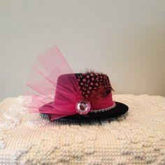 Royal Tea Hats - tea party, bridal shower, little girls tea party, weddings, church - the handmade, mini fascinator hat clips to hair www.royalteahats.com
