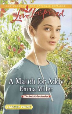 """""""Spinster Addy Coblentz fears she'll never marry. So her parents hire the new matchmaker who's moved to their Amish community of Seven Poplars. But Addy doesn't just want a match. She wants love. While some of her potential suitors are perfectly fine, only one man catches her eye. Gideon Esch is everything Addy's looking for: strong, kind--and handsome. But he's only a poor hired hand who can never give her family the stability they want..."""""""