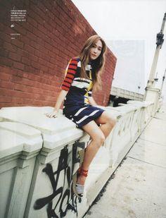 Jessica Jung for Cosmopolitan Korea.