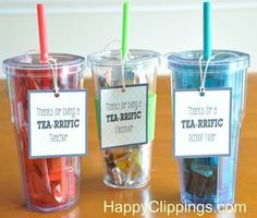 Thank You Gift Ideas for Volunteers | looking for a cute diy thank you gift for a special teacher debbie ...