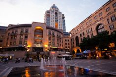 NELSON MANDELA SQUARE IN Sandton, Johannesburg The heart beat of Africa: Johannesburg has something for everyone