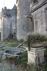 Westhall frosty day 093 (Alir147) Tags: castle heritage history architecture scotland aberdeenshire alba decay grand mansion derelict urbex bennachie westhall baronial