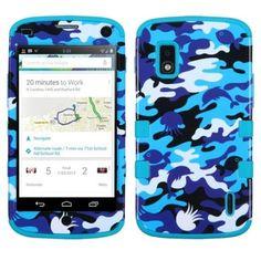 MyBat LG E960 (Nexus 4) Rubberized TUFF Hybrid Phone Protector Cover - Retail Packaging - Yellow/Tropical Teal MyBat http://www.amazon.com/dp/B00EVOBN2A/ref=cm_sw_r_pi_dp_FDELub18CEK65