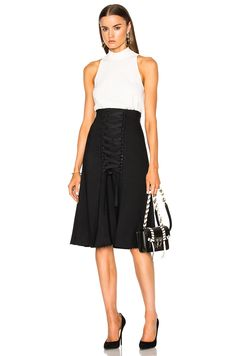 http://www.fwrd.com/product-proenza-schouler-viscose-wool-high-waisted-lace-up-skirt-in-black/PROE-WQ24/?d=Womens