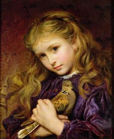 the-turtle-dove-sophie-anderson (1823-1903)