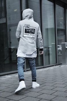 """admirableco: """"Wolf Town Hoodie. Available at www.admirable.co Pic by Atr Prom """""""