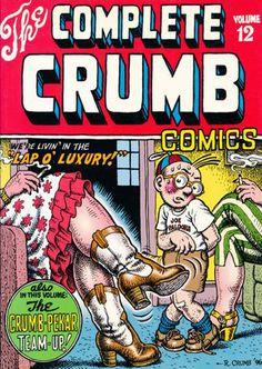 The Complete Crumb Comics 12 by Robert Crumb