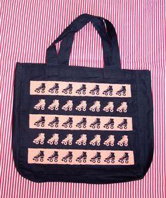 Ecobag navy | Patinzinhos coral R$20,00 Skating bags