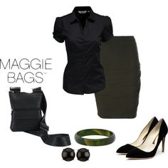 Maggie Bag Look by divacrafts on #Polyvore #MaggieBags #handbags #purses #fashion