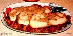 Smaczki mojej kuchni: Boże Narodzenie c.d. Dzisiaj galantynka z kurczaka...