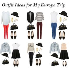 Outfit Ideas for Europe Part I by claudinemedina on Polyvore featuring Miss Selfridge, Jigsaw, Topshop, dVb Victoria Beckham, SCARTISSUE, Wallis, Nudie Jeans Co., Witchery, MARC BY MARC JACOBS and Prada