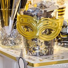 New Years Eve Party Ideas In Black And Gold Party City