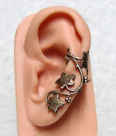 Forest Ivy Ear Cuff ' Left Ear ' by ranaway on Etsy, $14.99