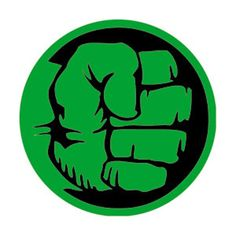 The Hulk Fist Button is Round Measuring Approximately 1 Inches - 3 cm Superhero Symbols, Avengers Symbols, Hulk Superhero, Hulk Marvel, Superhero Font, Superhero Party, Marvel Comics, Hulk Hulk, Superhero Cookies