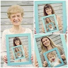 Diy Mothers Day Gifts Multigenerational Photo