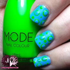Lazy Lacquerista: Simples :: Dots Within Dots :: Mode Cosmetics