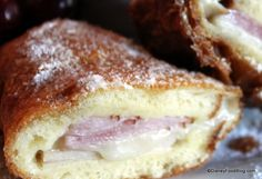 *Gonna take some work to perfect, probably need a deep fryer for it to come out just like theirs, however, we can get the sandwich without the expensive trip now....Disneyland's Monte Cristo recipe
