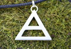 From the woman who made Jared Leto's original Triad necklace. DeborahJonesJewelry on Etsy, £30.00