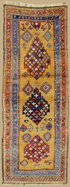 Mesghin carpet Dimension: 3.20 x 1.20 m Date: 2. half 19th century West Persia I Ex Oriente: Persia