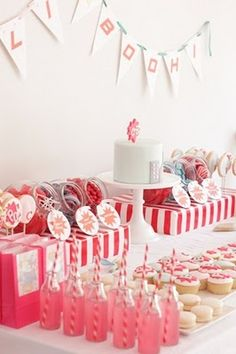awesome kid party ideas and cakes and cupcakes