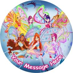 Winx Club - her bday party theme (for the moment) Rainbow Spa, Sailor Moon, Birthday Cheers, Birthday Ideas, Birthday Parties, Birthday Cake, Fire Fairy, Las Winx, Bloom Winx Club