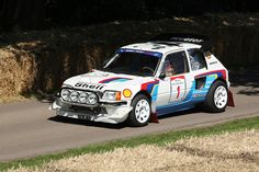 Peugeot 205 T16 Goodwood Festival of speed 2011