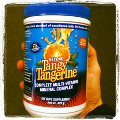 @Nicole Sharpe Giving Beyond Tangy Tangerine by Youngevity a try....