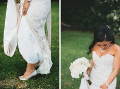 Date embroidered in Dress -- Kelsey   Andrew // Olowalu Destination Wedding // Maui, Hawaii