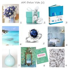 AM Dolce Vita, Blue Color Inspiration Board