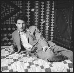 * Lucian Freud photo Walker Evans